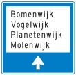 K12 Categorie K - Bewegwijzering