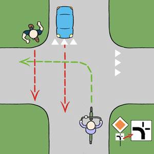 afbuig3 Afbuigende voorrangsweg