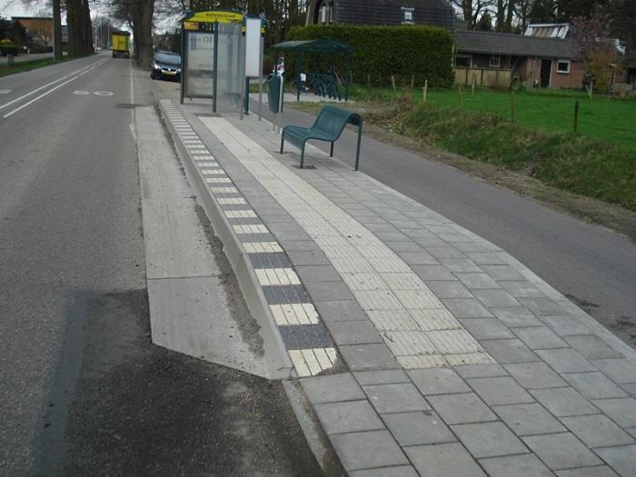 blokmarkering-bushalte Blokmarkering