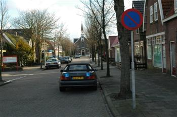 bord_E1 Parkeren - Verkeersborden