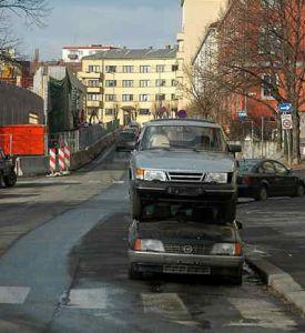 dubbelparkeren Parkeren - Dubbel parkeren