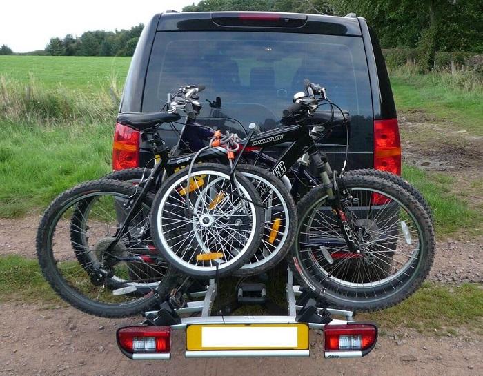 fiets-18-centimeter Lading op de trekhaak
