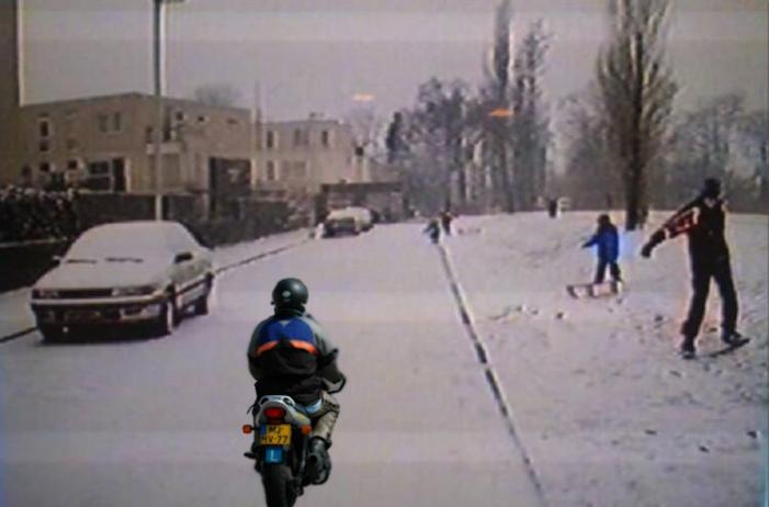 kinderen-sneeuw-motor Categorie K Risico's in verband met weg-, zicht- en weersomstandigheden