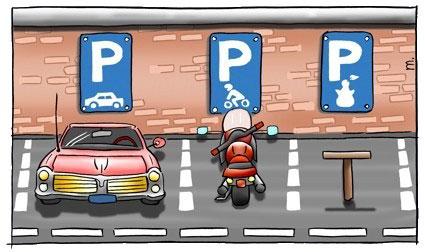 parkeren-1 Inleiding van het hoofdstuk stilstaan en parkeren