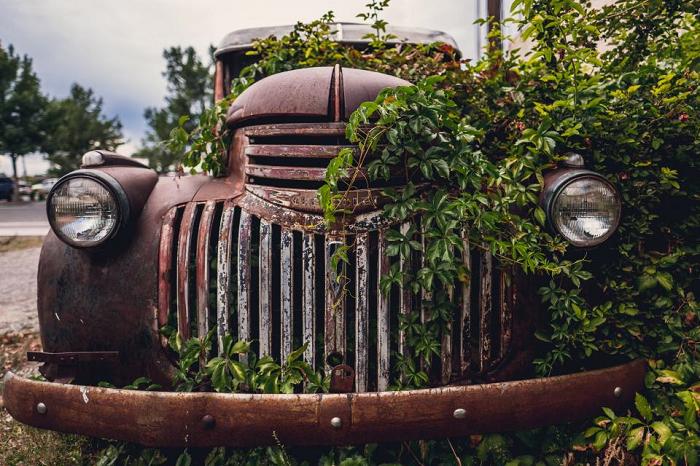 parkeren oldtimer