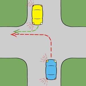rechtslin1-1 Rechtsaf gaat voor linksaf