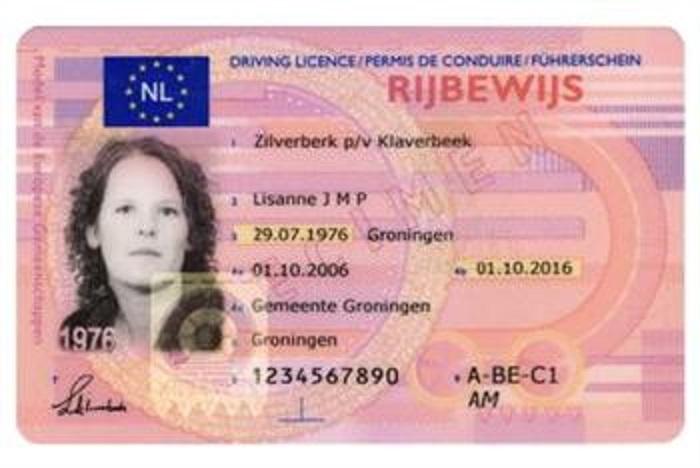 rijbewijs-1 Categorie B Rijbevoegdheid en rijbewijzen