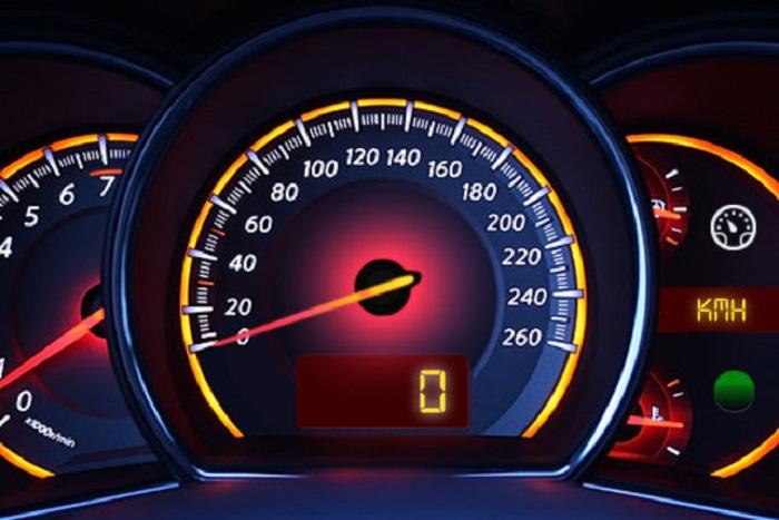 snelheidsmeter-defect Categorie C Inrichting, belading en slepen van voertuigen