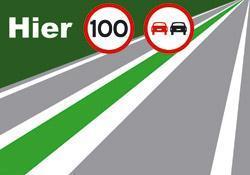 stroomweg_inhaalverbod_1 Strepen op de weg en snelheid
