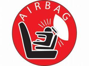 symbool-airbag Categorie E Gebruik gordels en helmen; zitplaats voor passagiers