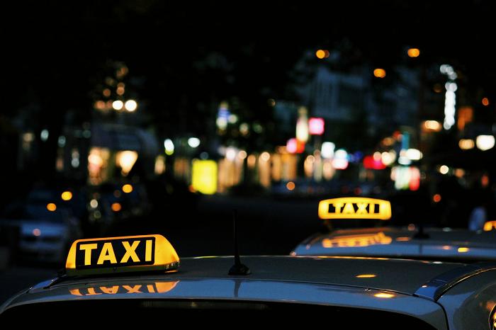 taxi dakbord