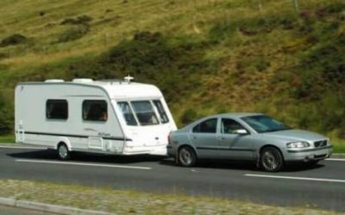 auto en caravan