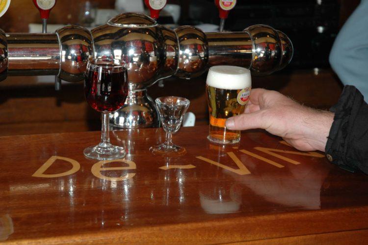 wijn jenever bier