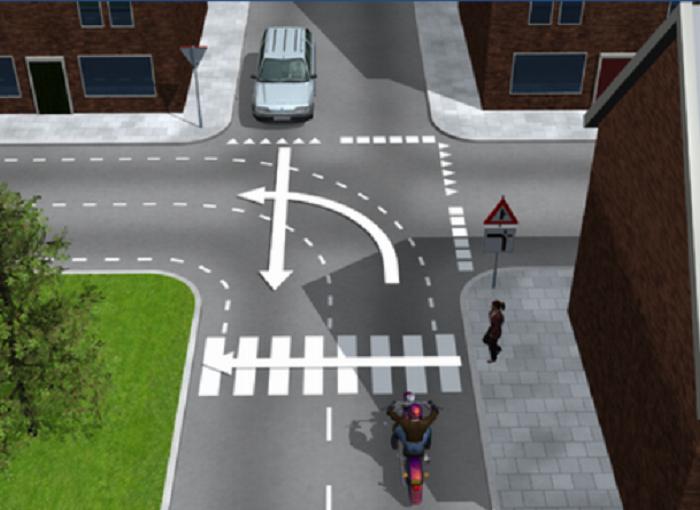 voetgangers-10 Categorie O Voor laten gaan van blinden, gehandicapten en voetgangers