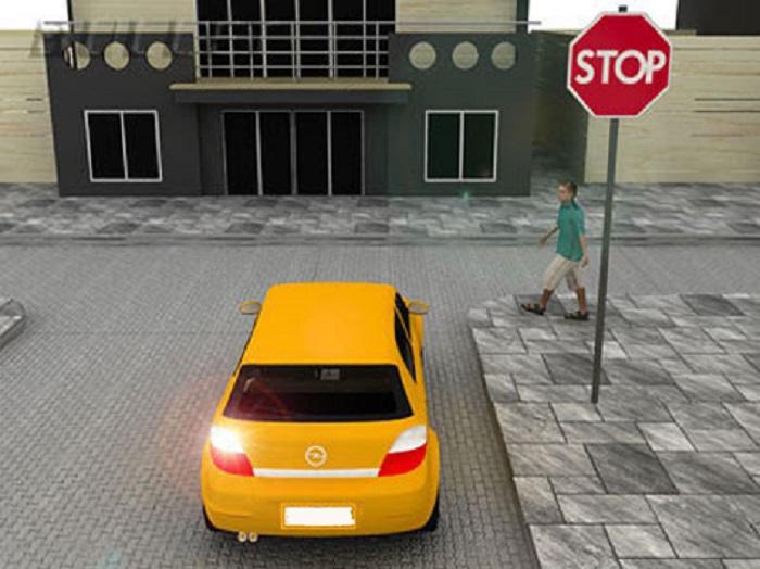 voetgangers-3 Categorie O Voor laten gaan van blinden, gehandicapten en voetgangers