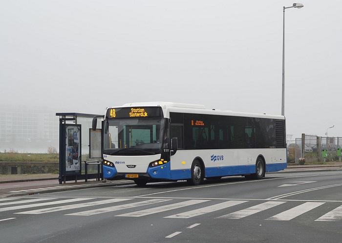 bus-van-halte Lijnbus