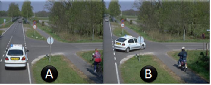 plaats-2keer Categorie R Plaats op de weg en voorsorteren deel 2