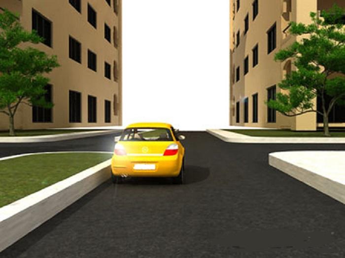 plaats-9 Categorie R Plaats op de weg en voorsorteren