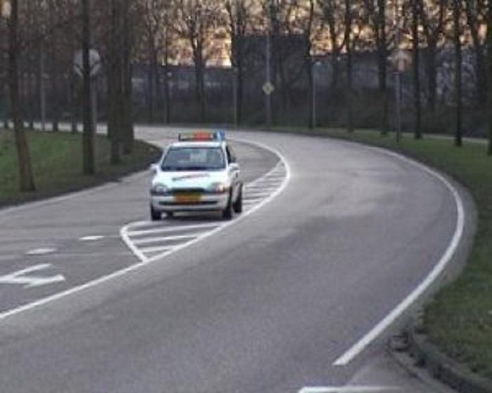verkeerstekens-1 Categorie Z Verkeerstekens op het wegdek
