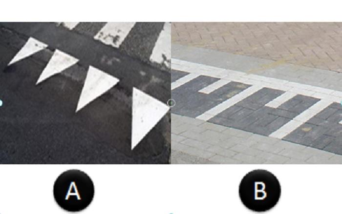 verkeerstekens-3 Categorie Z Verkeerstekens op het wegdek