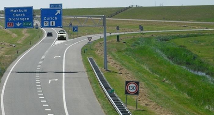 afslag-gemist2 Bijzondere wegen, weggedeelten, weggebruikers en manoeuvres - Kennis - Examenvragen oefenen deel 1