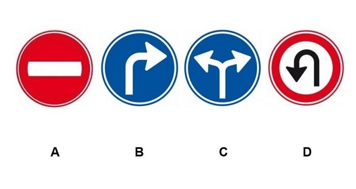 borden-abam87 Categorie R Plaats op de weg en voorsorteren deel 2