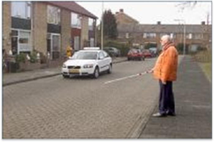 voetgangers-a59 Categorie O Voor laten gaan van blinden, gehandicapten en voetgangers deel 2