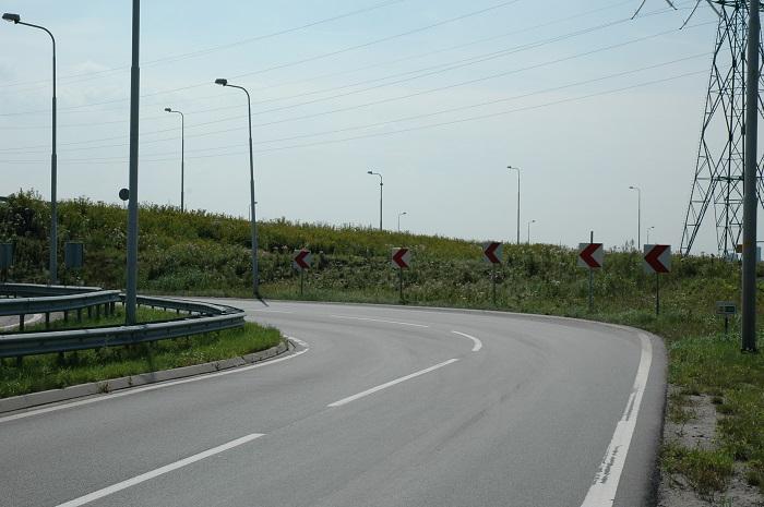 waarschuwingsstreep Categorie Z Verkeerstekens op het wegdek deel 2