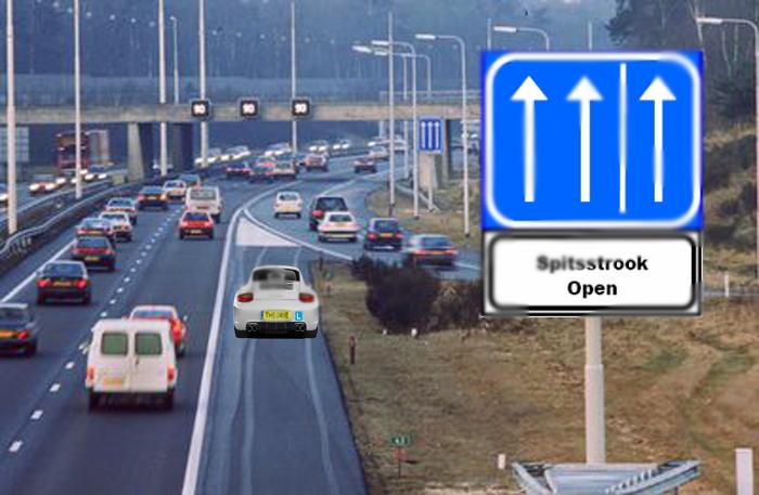 z-b11 Categorie Z Verkeerstekens op het wegdek
