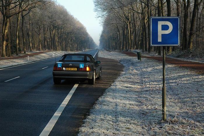 z-b16 Categorie Z Verkeerstekens op het wegdek