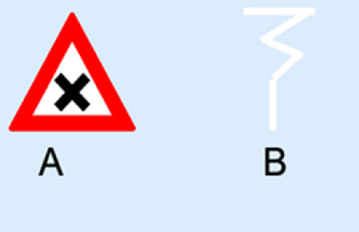 z-b8 Categorie Z Verkeerstekens op het wegdek