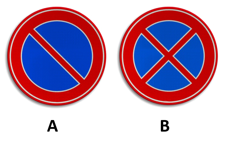 e1-e2w Categorie U Stilstaan en parkeren